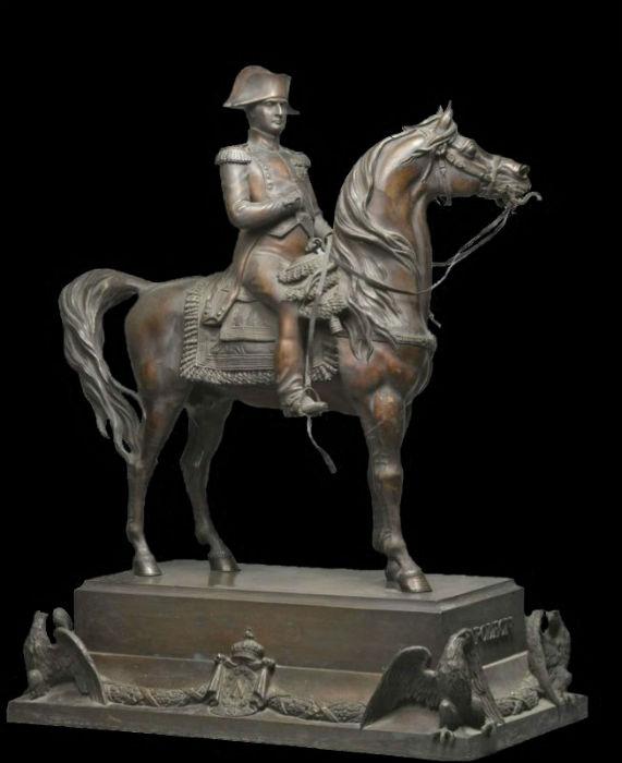Альфред Д Орсе - Конная статуя Наполеона.jpg