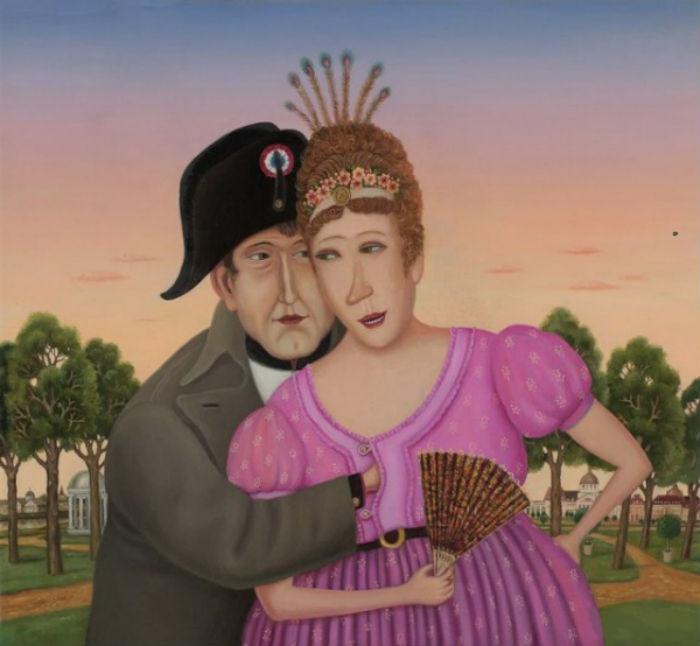 Валентин Губарев - Наполеон и Жозефина.jpg