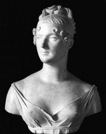 Франсуа Жозеф Босио - Бюст Жозефины - 1809 - Музей Шато (Шантийи Франция) - гипс.JPG