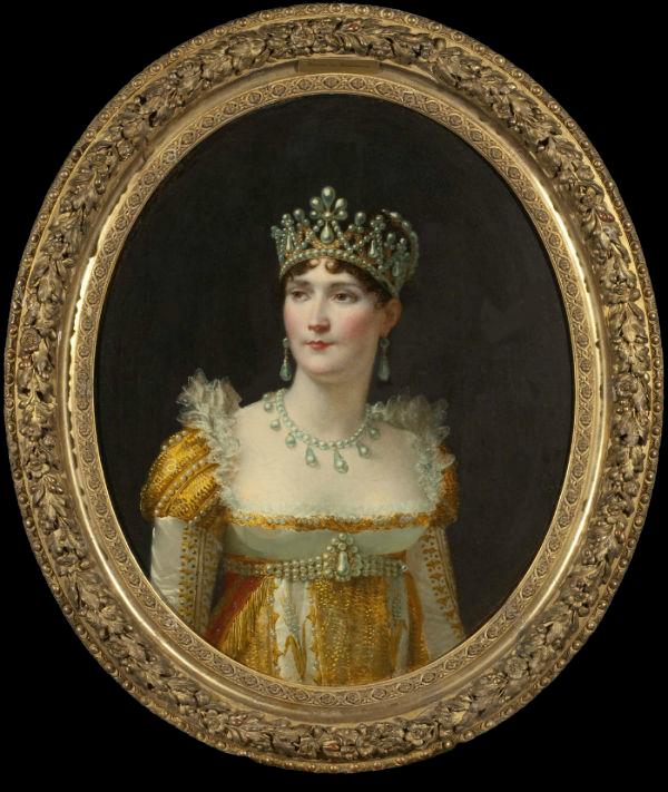 Жан-Батист Реньо - Портрет Жозефины де Богарне -  около 1801 - Национальный музей Стокгольма.png