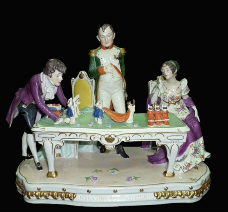 Репетиция коронации Наполеона - Германия - Scheibe-Alsbach - 1972-1990.jpg