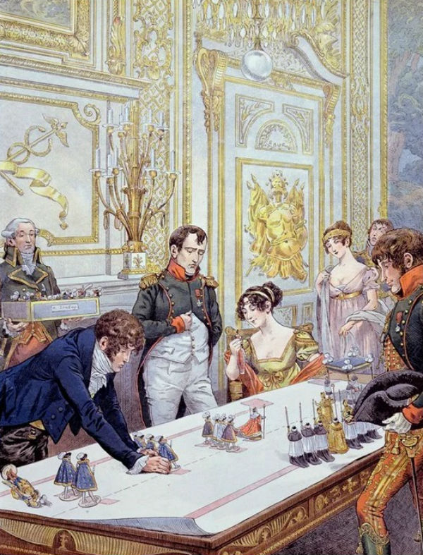 Жак Мари Гастон де Бревиль - Репетиция коронации.jpg
