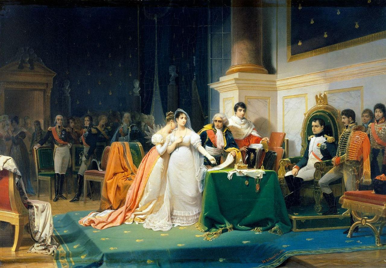 Развод Императрицы Жозефины в 1809 году - Анри Фредерик Шопен.jpg
