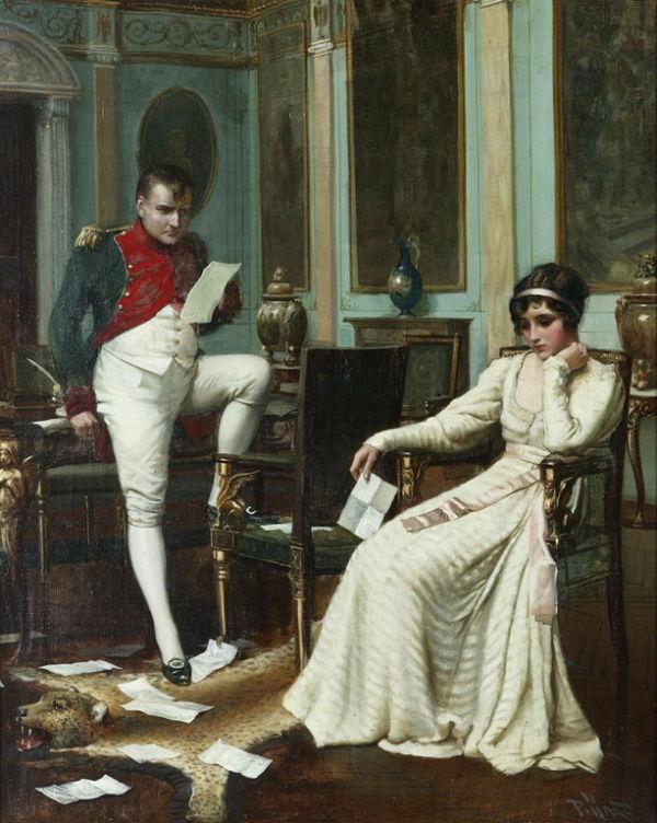 Гарольд Х Пиффард - Наполеон и Жозефина - 1895-1899.jpg
