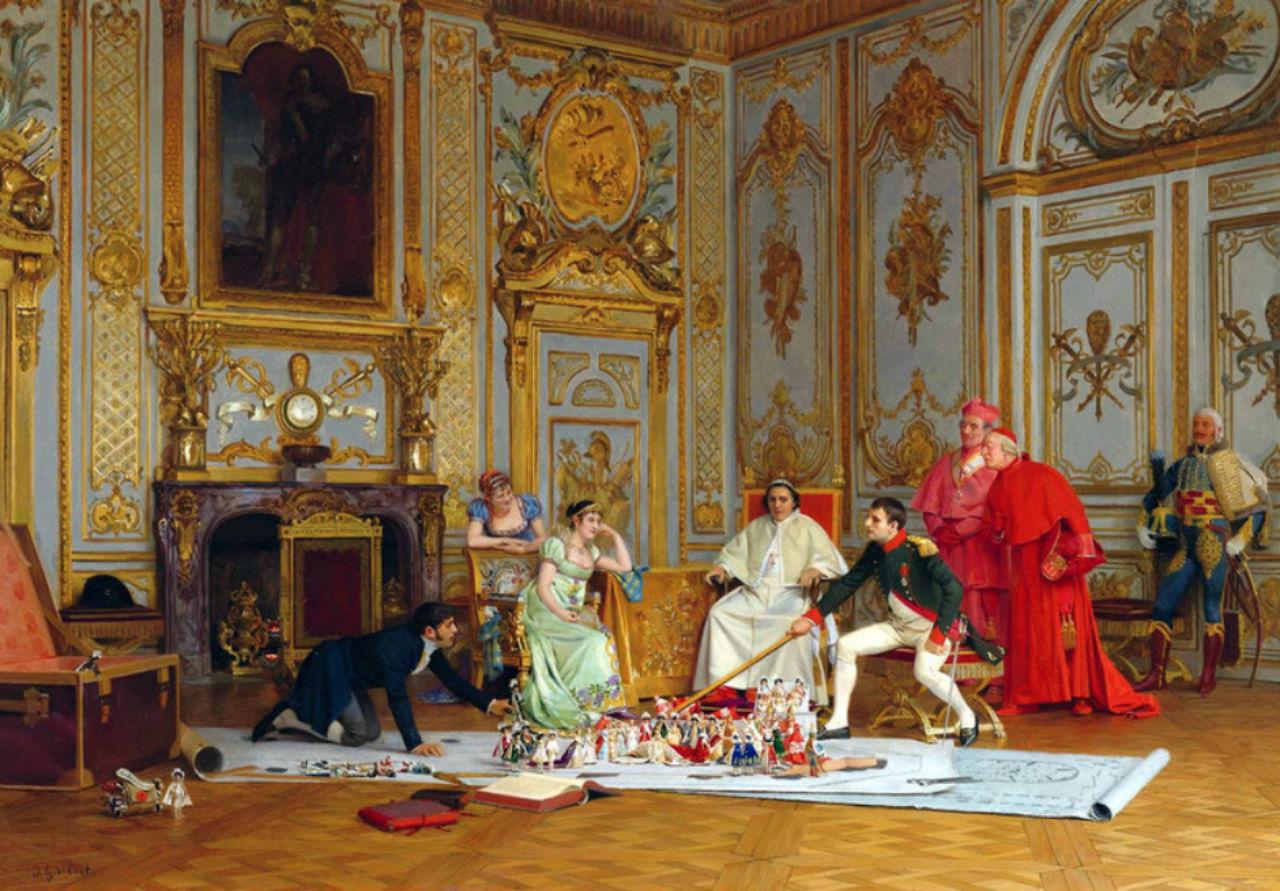 Жан Жорж Вибер - Генеральная репетиция коронации.jpg