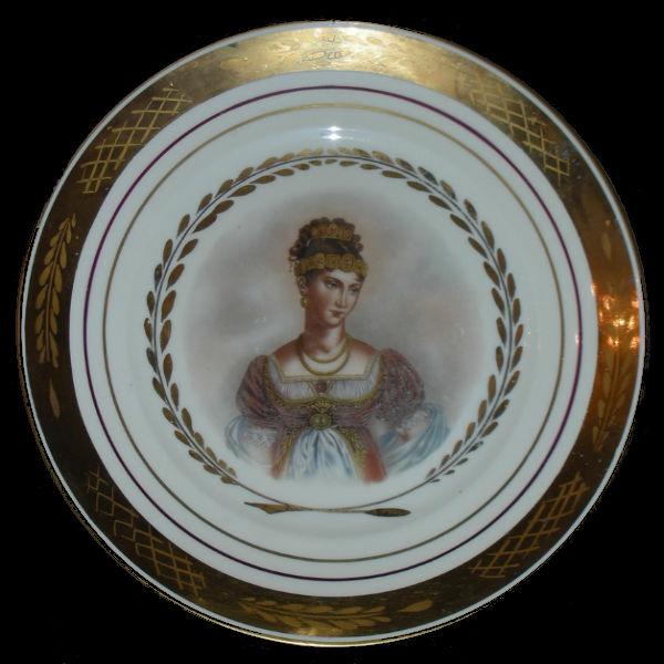 Тарелка декоративная Жозефина - Дания (Royal Copenhagen).jpg