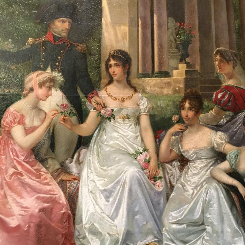 Жан-Луи Виктор Вигер дю Виньё - Роза Мальмезон - около 1867 - Национальный музей дворца Мальмезон - фрагмент.jpg