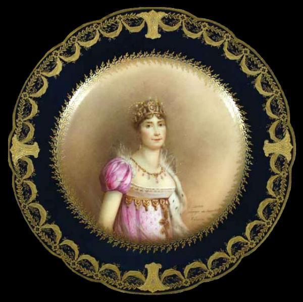 Декоративная тарелка Жозефина - Западная Европа - 1888-1896.jpg