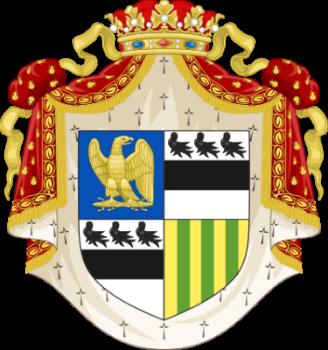 Герб Жозефины де Богарне герцогини Наварры - (1810-1814).png