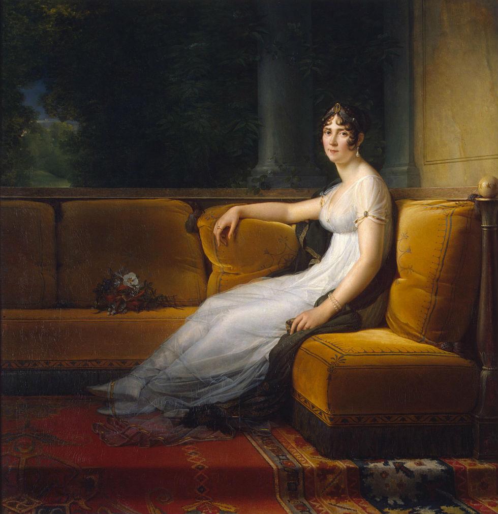 Франсуа Жерар - Портрет Жозефины жены Наполеона - 1801 - Эрмитаж.jpg