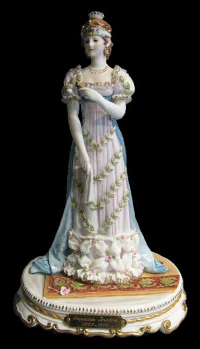 Статуэтка Императрица Жозефина - Италия - CAPODIMONTE.jpg