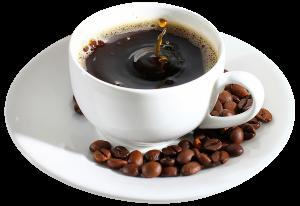 Чашка кофе и кофейные зёрна.png