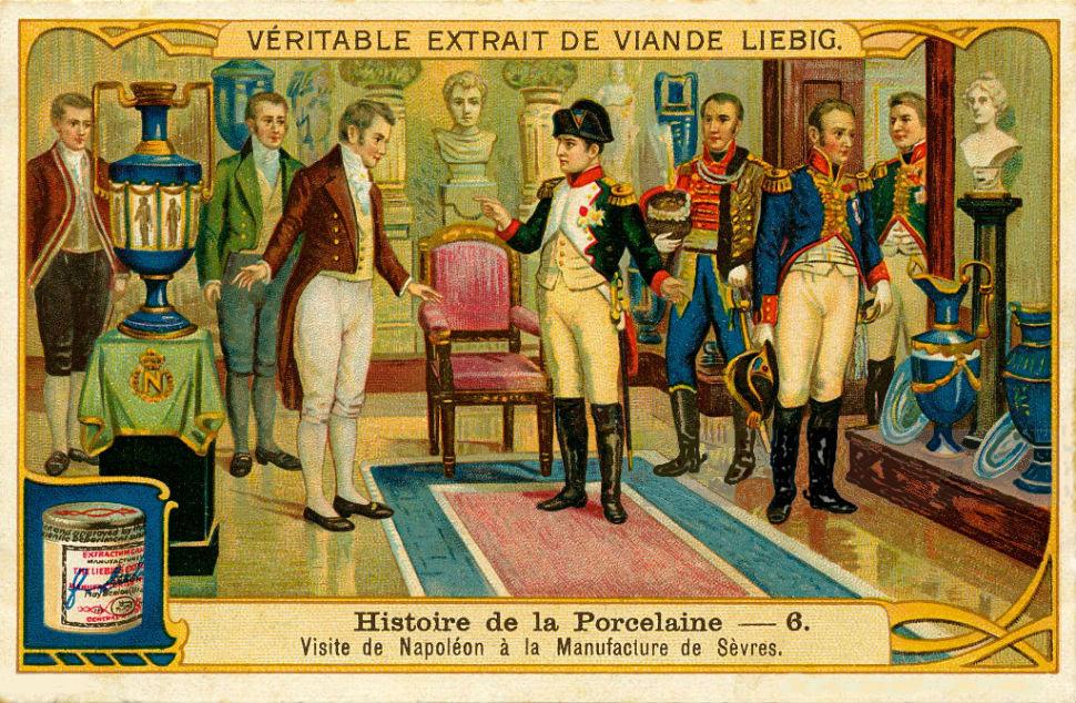 Наполеон I в гостях у производителя фарфора в Севре.jpg