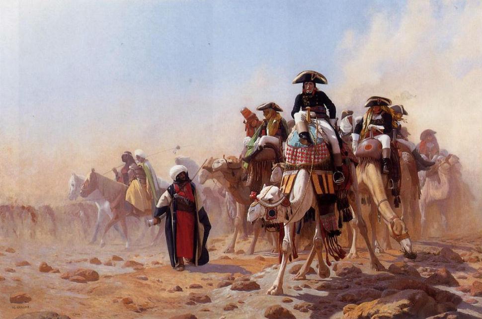 Жан-Леон Жером - Бонапарт в Египте - 1863.jpg