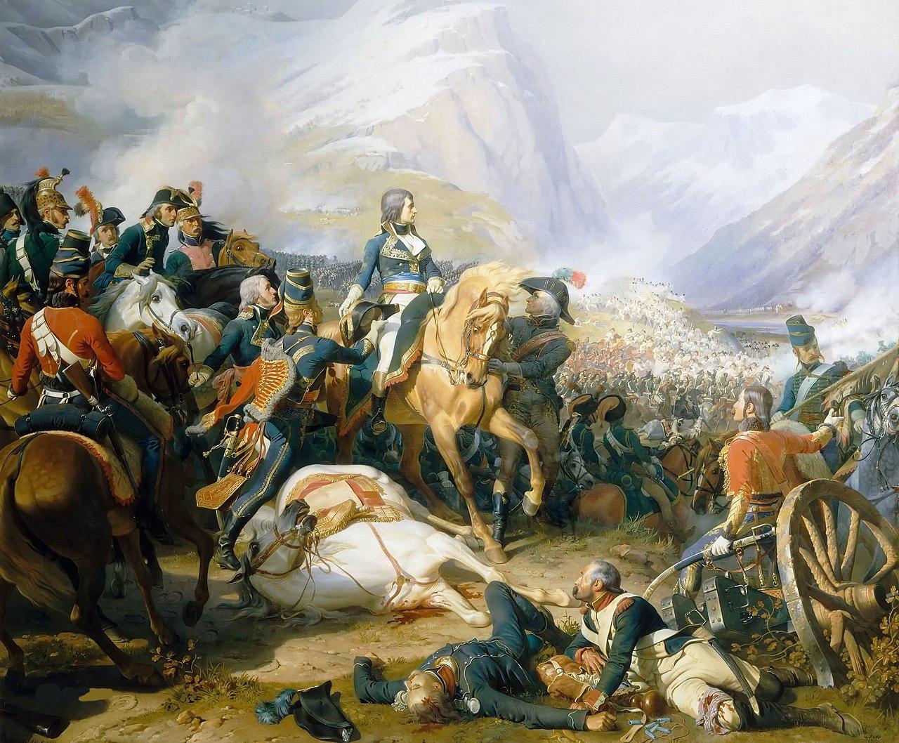 Филиппото, Феликс-Эмманюэль-Анри -Наполеон в битве при Риволи.jpg