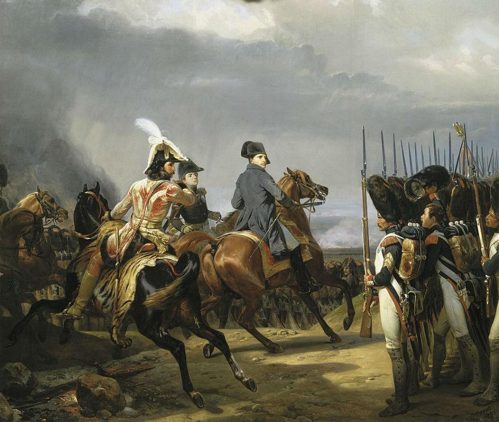 Орас Верне - Йена. Наполеон перед императорской гвардией.jpg
