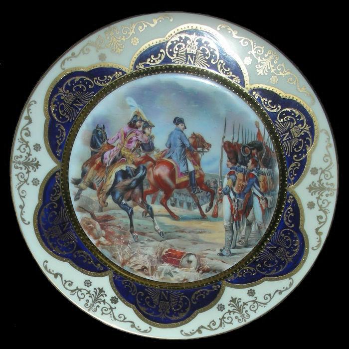 Тарелка декоративная Сражение при Вошане - Чехословакия - 14 февраля 1814.jpg