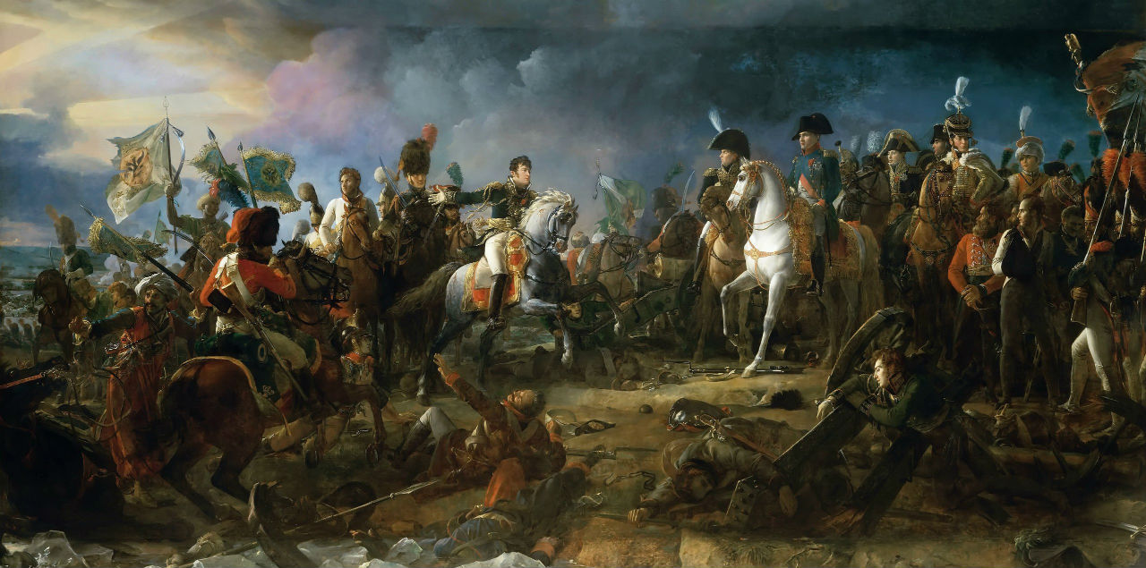 Франсуа Жерар - Наполеон I в битве под Аустерлицем.jpg