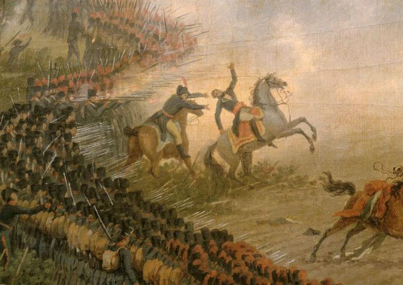 Луи-Франсуа Лежен - Смерть генерала Дезе в битве при Маренго 14 июня 1800 года - Версаль.jpg