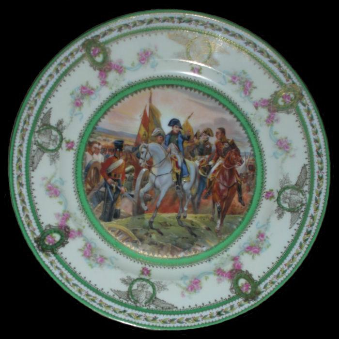Тарелка декоративная Сражение под Фридландом -  2 июня 1807.jpg