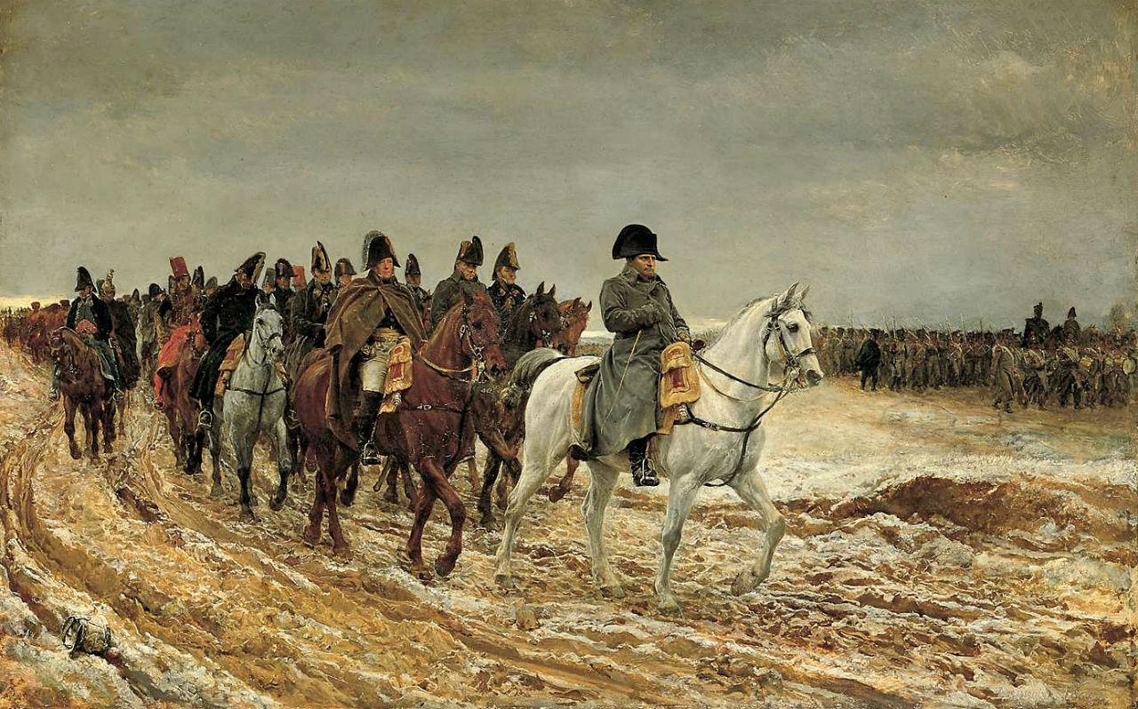 Месонье Жан-Луи-Эрнест - Кампания во Франции 1814 года.jpg
