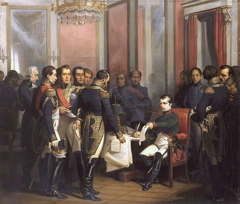 Франсуа Бушо - Отречение Наполеона.jpg