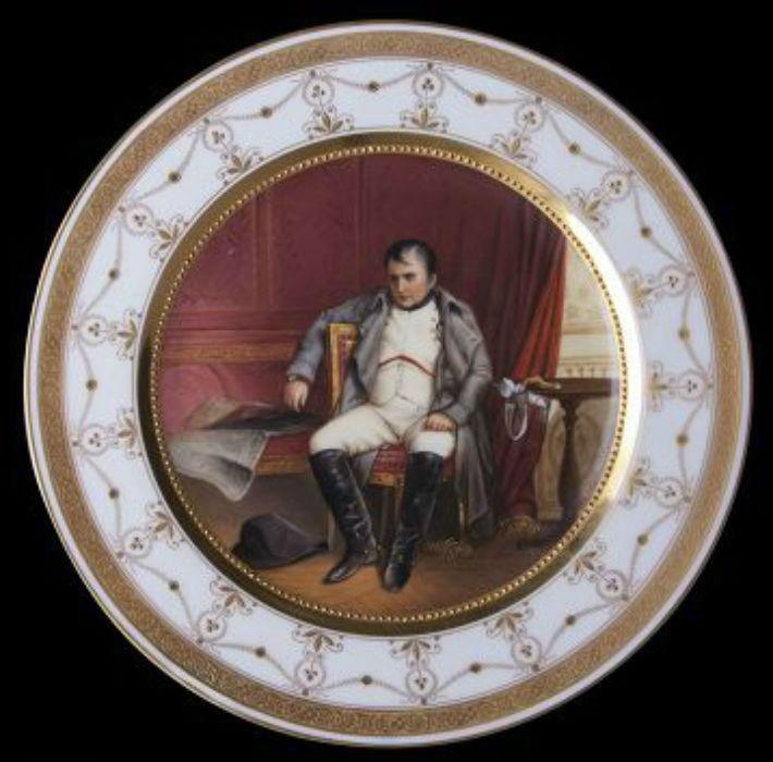 Поль Деларош - Наполеон Бонапарт после отречения во дворце Фонтенбло 1814 -  (1845) - 1.jpg