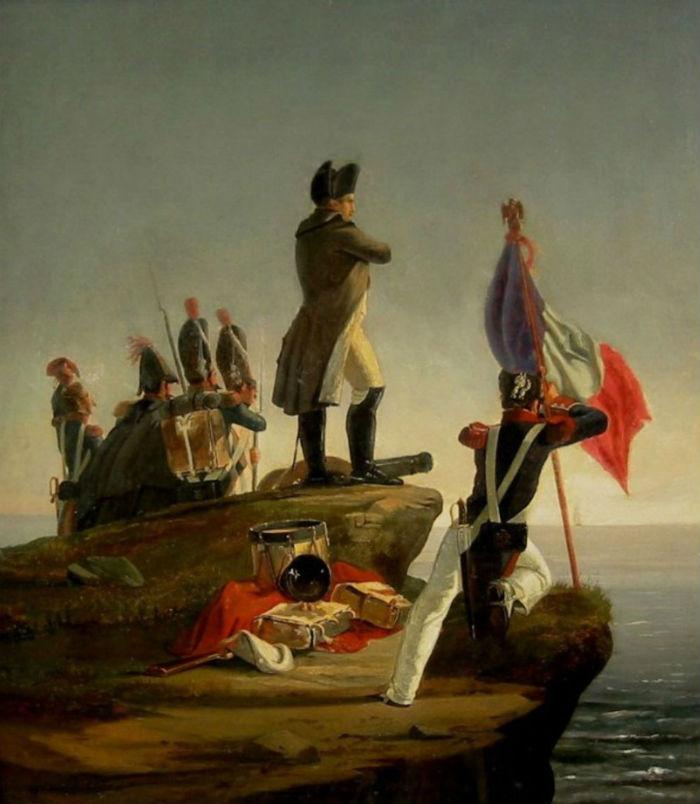 Орас Верне - Наполеон Бонапарт на острове Эльба.jpg