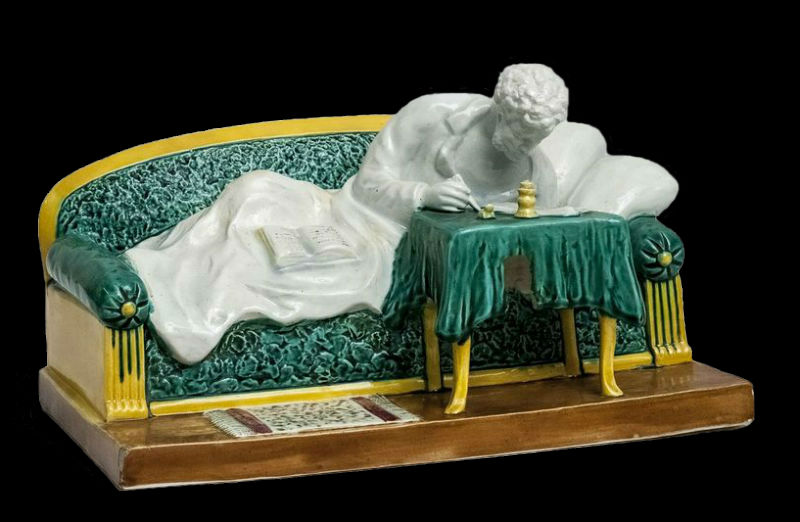 Пушкин - автор Исидор Фрих-Хар - Конаковский фаянсовый завод им  М И Калинина - 1937.jpg