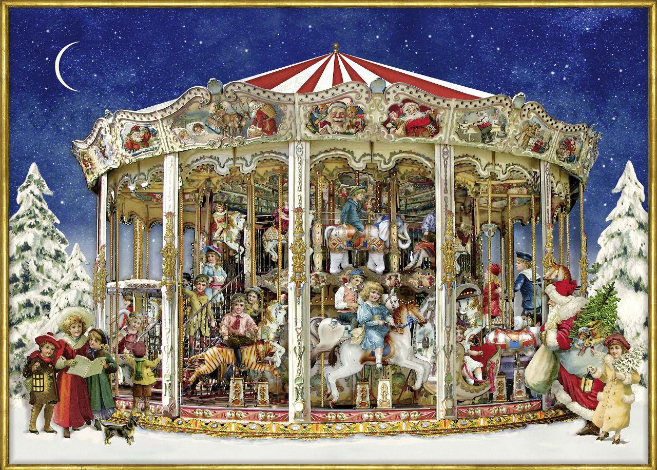 Элисон Гардинер - Alison Gardiner - The Christmas Carousel.jpg