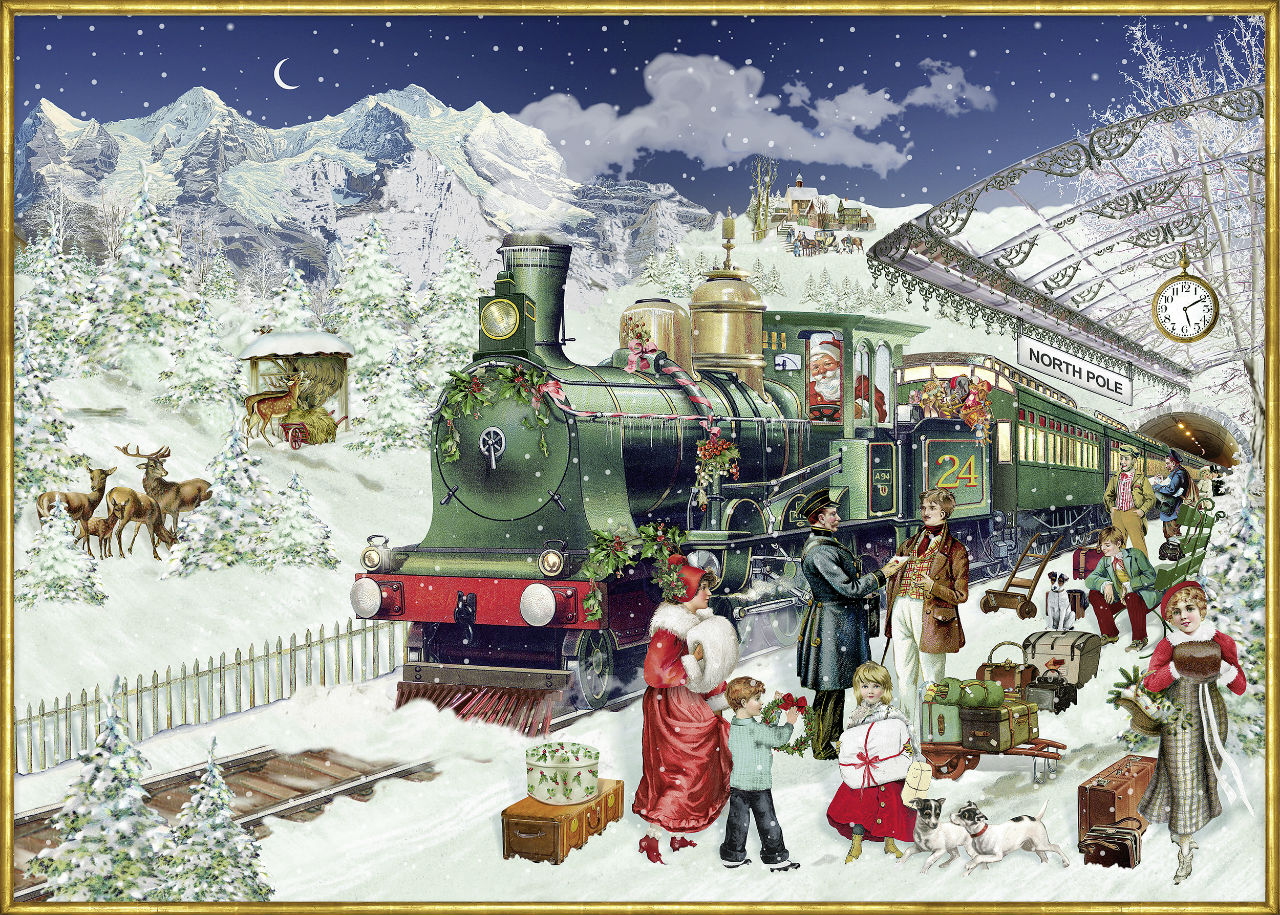Элисон - Гардинер - Alison Gardiner - The Christmas Express.jpg