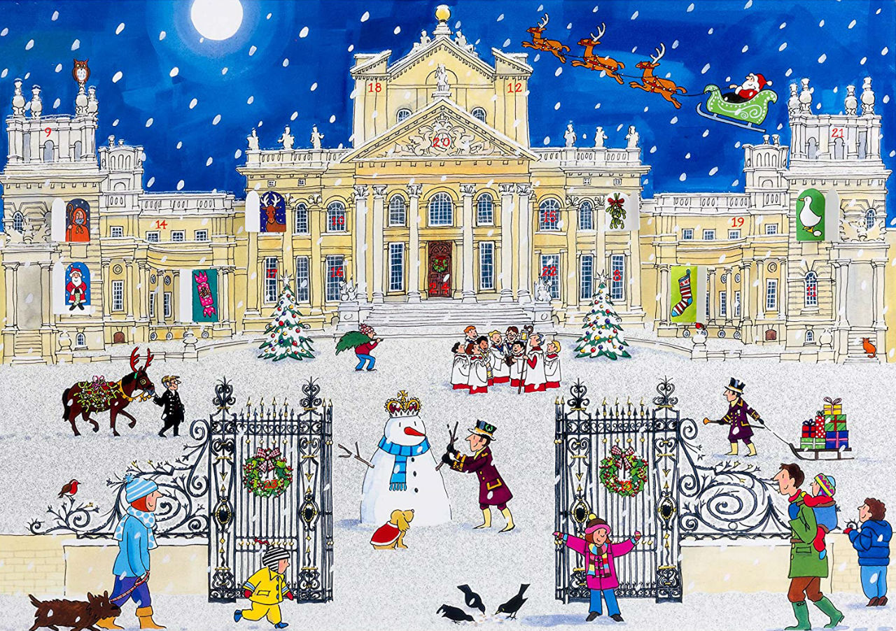 Alison Gardiner - Christmas at the Palace - Large Traditional Advent Calendar.jpg