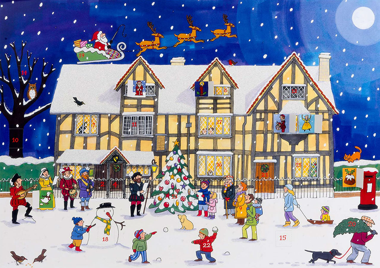Alison Gardiner - Christmas at the Old Town House - Large Traditional Advent Calendar.jpg
