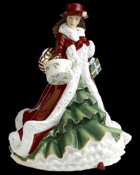 Рождественская фигурка года - Royal Doulton - 2.jpg