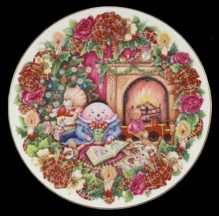 Декоративная тарелка - Ночь перед Рождеством - Royal Doulton - 1996.jpg