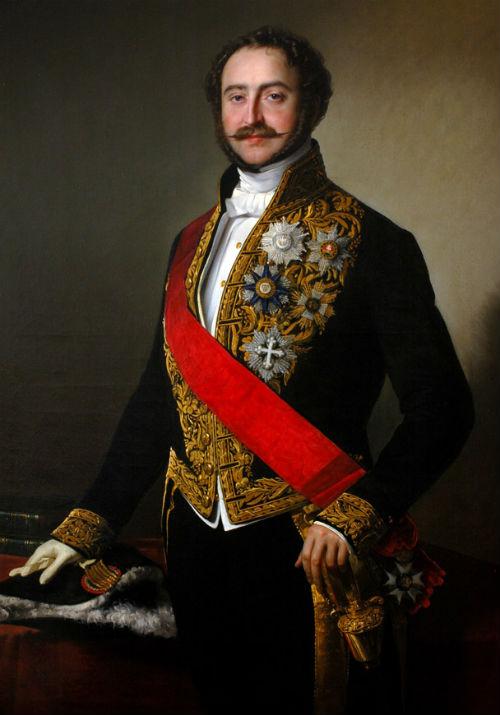 Agénor de Gramont (1819-1880) - Agénor de Gramont (ici en 1853) - par Eliseo Scala - collection Gramont.jpg