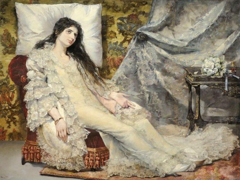 Хозе Нин и Тудо (1840-1908) - Сара Бернар в роли Маргариты Готье.jpg
