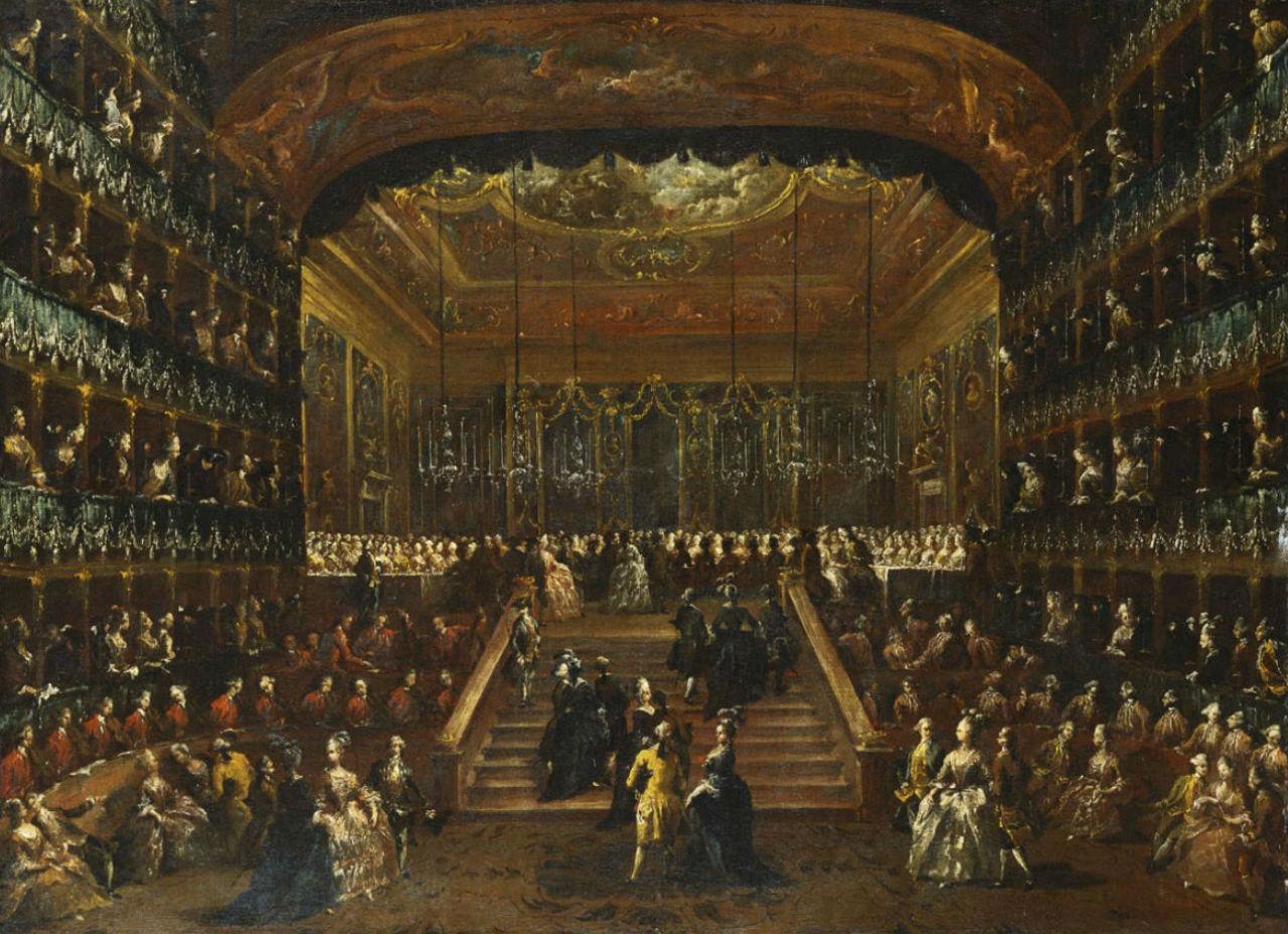 Francesco Guardi - Ball in the Teatro San Benedetto - Venice - 1782.jpg