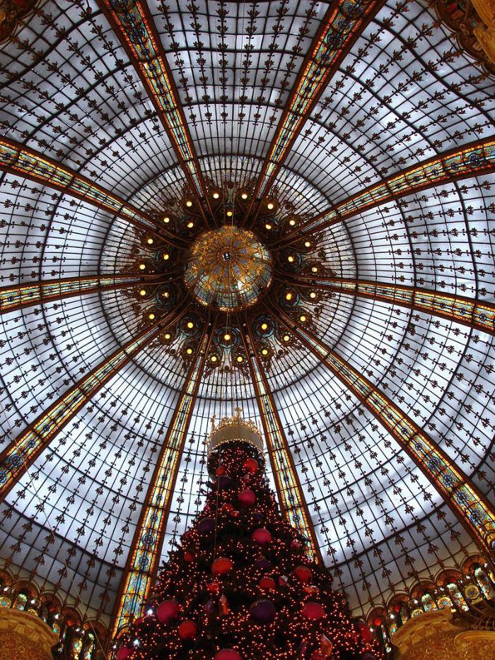 Paris - Galeries Lafayettes - Coupole - 2005-11-28.jpg