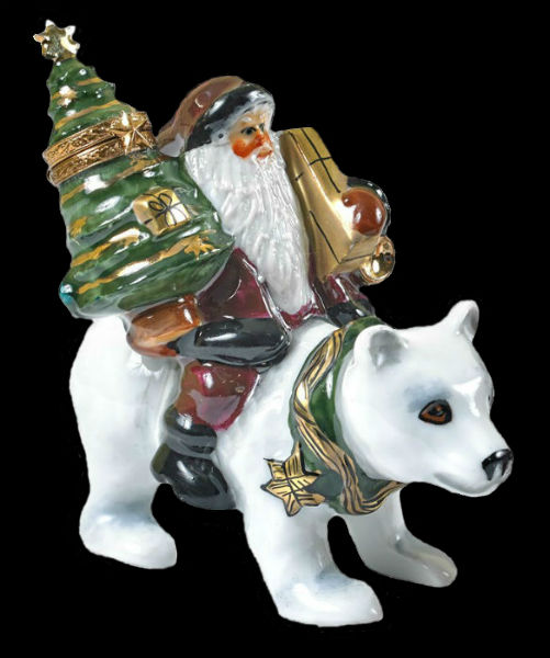 santa on polar bear - limoges - box.jpg