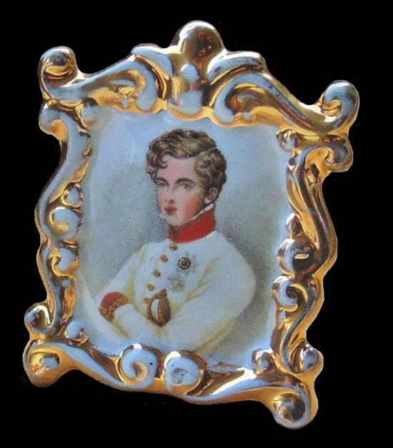 Портрет Наполеона II - Франция - Севр.jpg