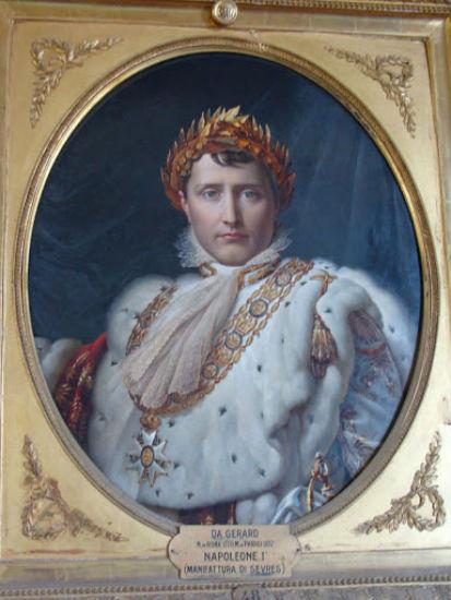 Наполеон Бонапарт - Севр - Франция - с портрета Франсуа Жерара - Музей фарфора - Флоренция.jpg