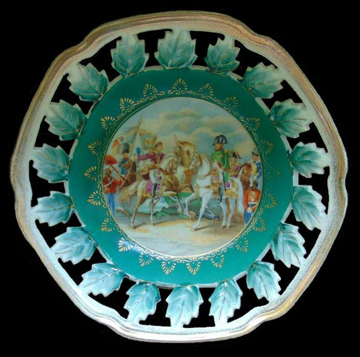 Декоративная тарелка Битва при Ваграме.jpg