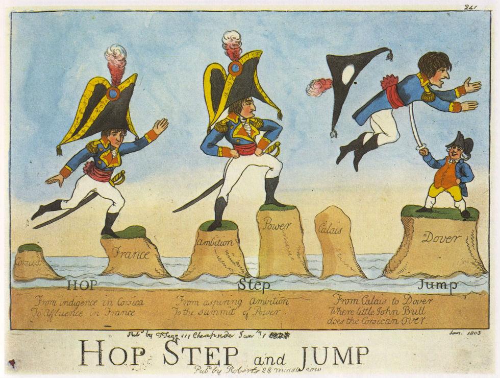 Джеймс Гилрей - Джон Булль одолевает Наполеона.jpg