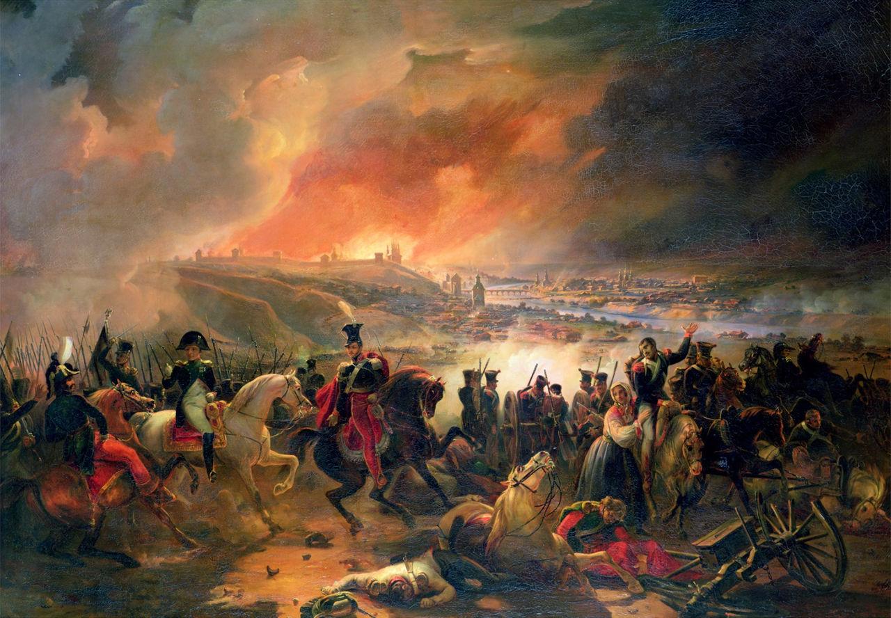 Жан Шарль Ланглуа - Битва при Смоленске 1812 года - 1839.jpg