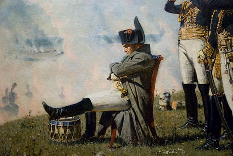 Наполеон I на Бородинских высотах - фрагмент.jpg