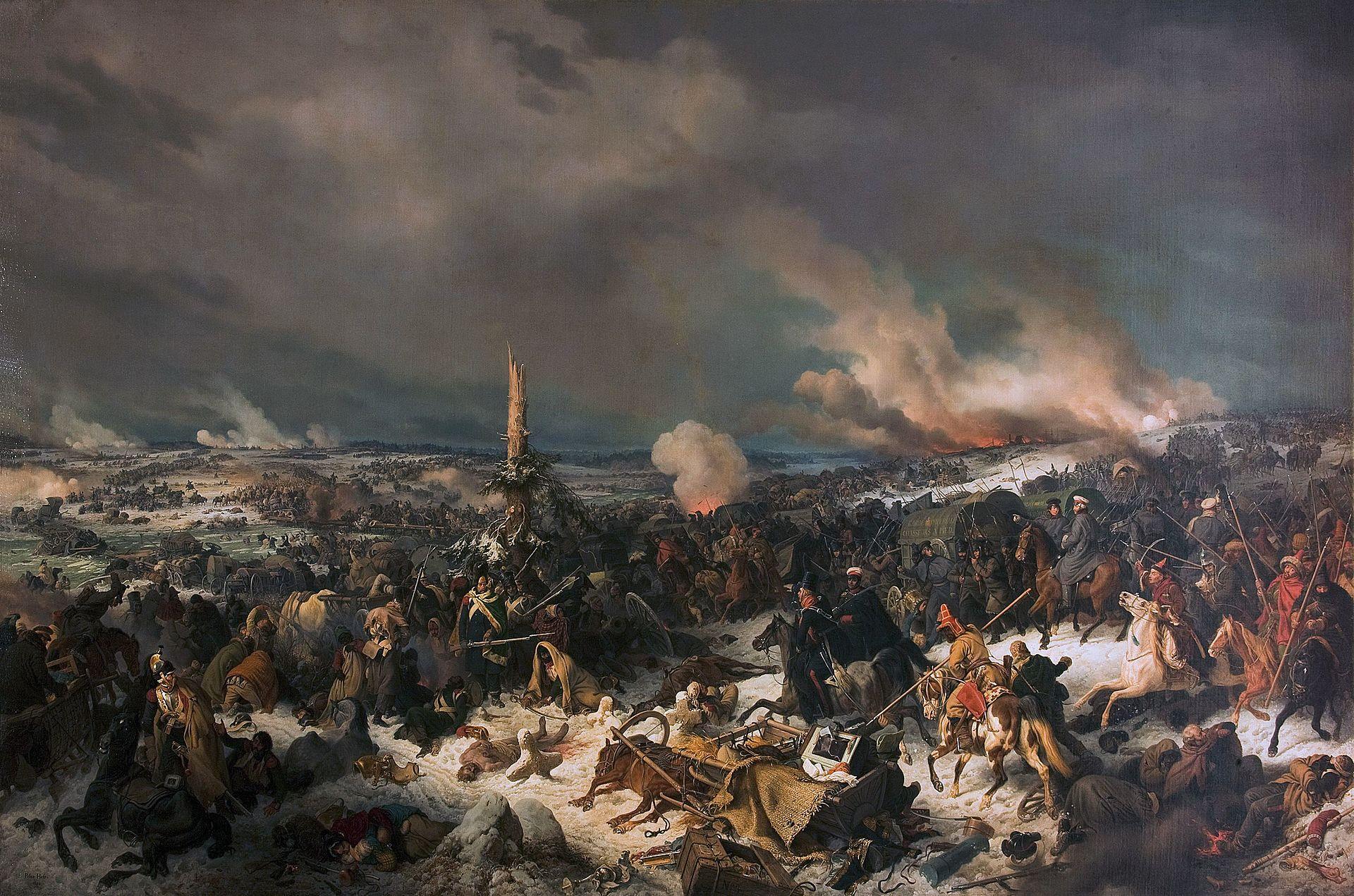 Петер фон Гесс (Хесс) (1792-1871) - Отступление французов через Березину 17 (29) ноября 1812 года - 1844.jpg