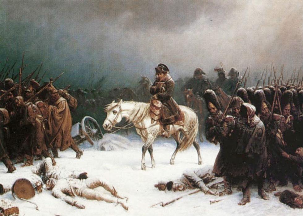 Адольф Нортон - Отступление Наполеона из Москвы.jpg