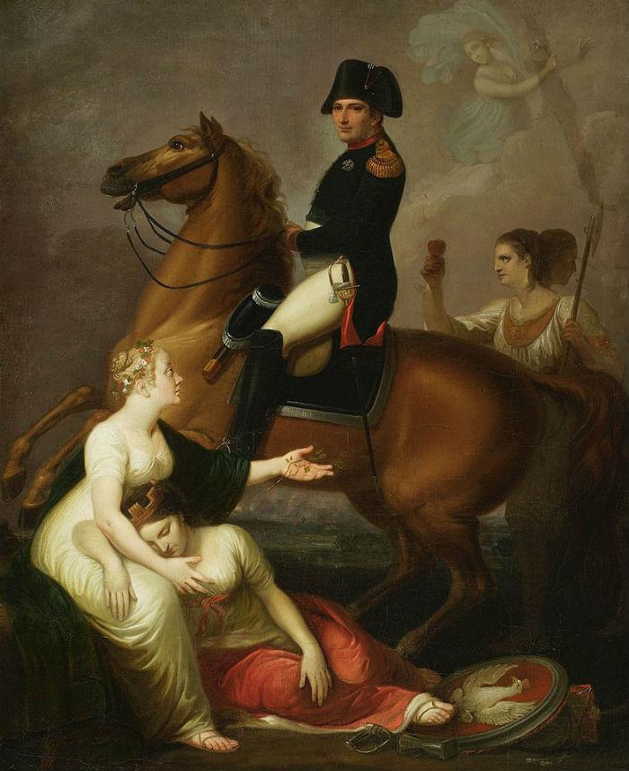 Юзеф Пешка - Наполеон и Польша - Аллегория (Наполеон или Эней пробуждающий Дидону).jpg