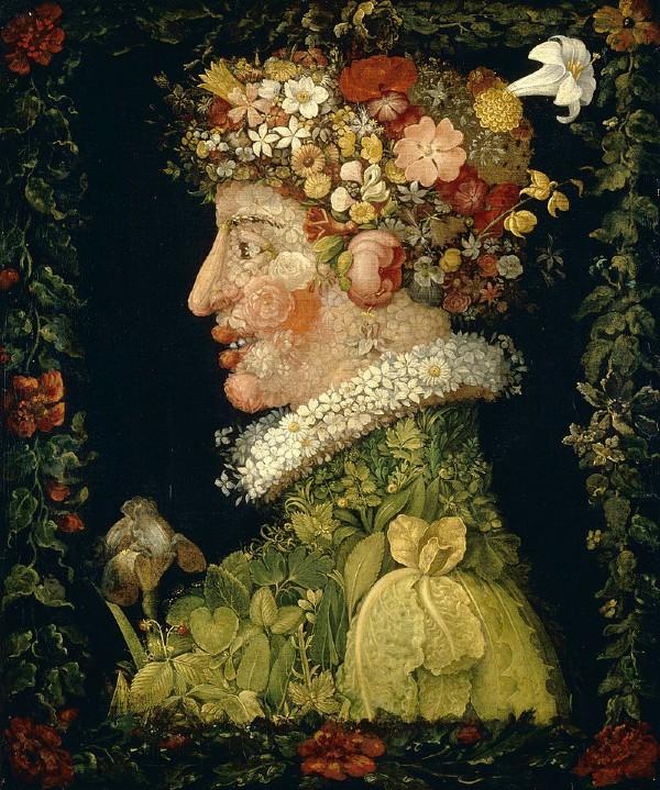 Джузеппе Арчимбольдо Весна 1573  Лувр Париж.jpg